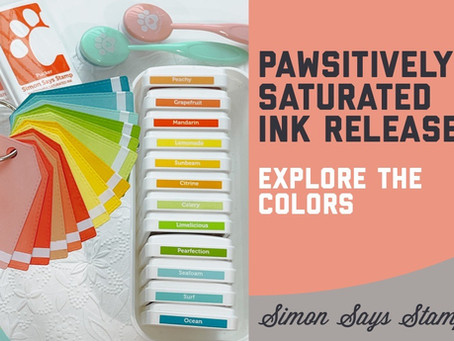 Simon Says Stamp - Pawsitively Saturated Inks Launch, STAMPtember 2021