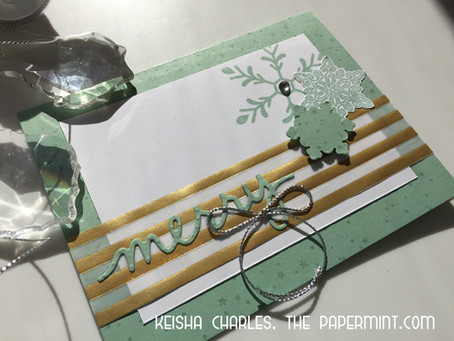 Christmas Card Countdown - Day 1