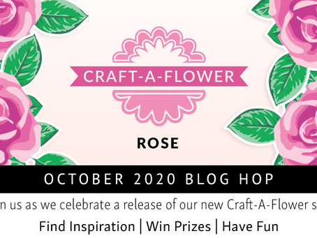 Altenew Craft-A-Flower: Rose Release Blog Hop + Giveaway