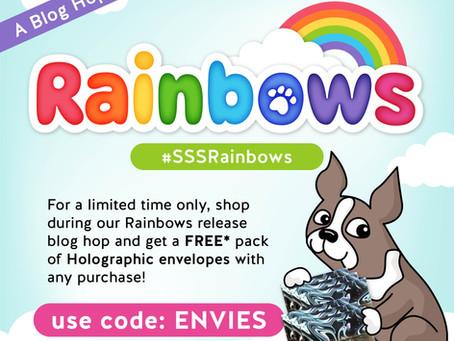 Simon Says Stamp -  Rainbows Blog Hop & Giveaway, Day 2