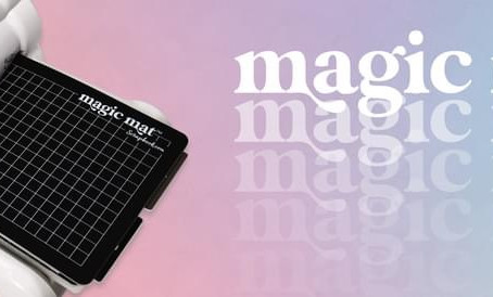 Slimline Card Rainbow with the Magic Mat