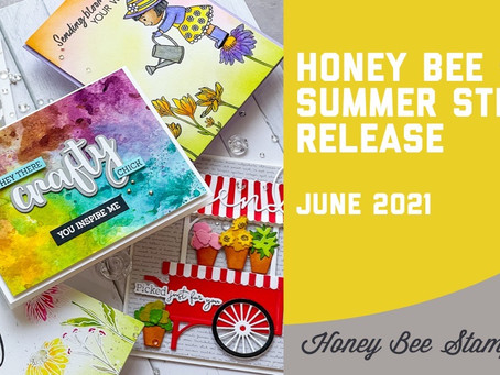 Honey Bee Stamps - Sweet Stems Release