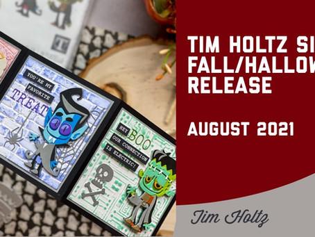 Tim Holtz - Sizzix Halloween 2021 Release