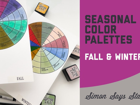 Seasonal Color Palettes, Fall and Winter Edition