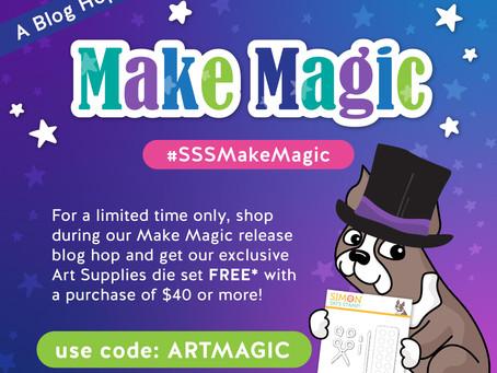 Simon Says Stamp -  Make Magic Blog Hop & Giveaway, Day 2