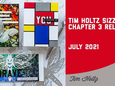 Tim Holtz - Sizzix Chapter 3 Launch