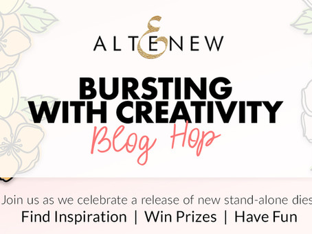 Altenew Bursting With Creativity Stand-alone Dies Release Blog Hop + Giveaway