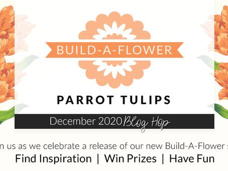 Altenew Build-A-Flower: Build-A-Flower: Parrot Tulips Release Blog Hop + Giveaway