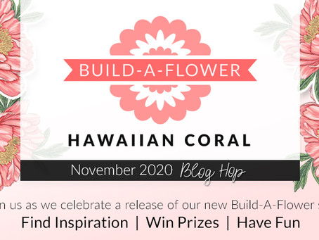 Altenew Build-A-Flower: Hawaiian Coral Release Blog Hop + Giveaway