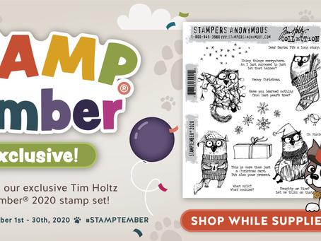 Tim Holtz STAMPtember(R) Exclusive!!!