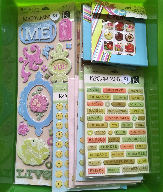 Chipboard Stickers