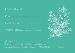 Copie de Illustrated Floral Gift Certifi