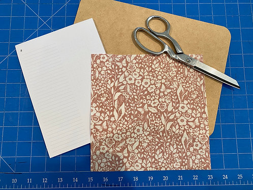 Muted Floral Reusable Cotton Wipes