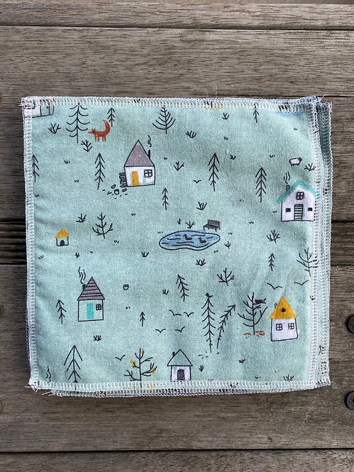 House in the Woods Reusable Cotton Wipes 10pk