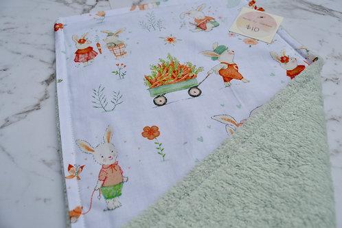 Cotton Harvest Burp Cloth