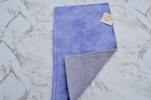 Cotton Purple Solid Burp Cloth