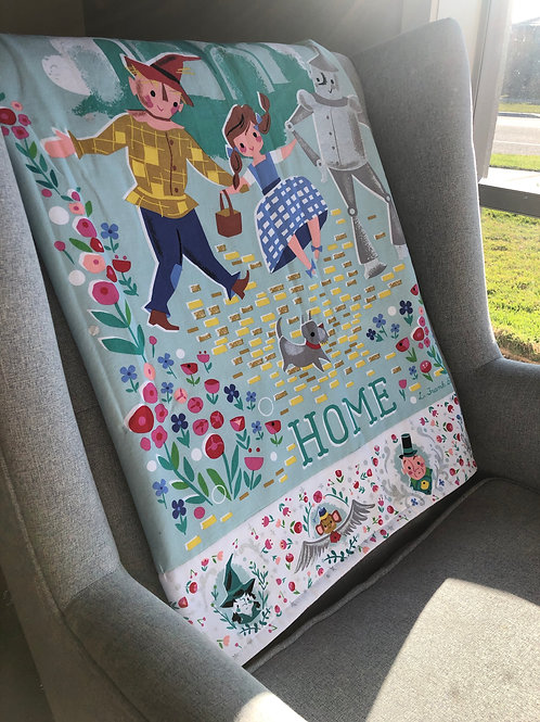 Wizard of Oz Quilt/ Theres no place like Home Quilt/ AUS Quilt