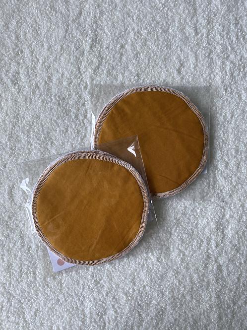 Mustard Reusable MakeUp Wipes (2pk)