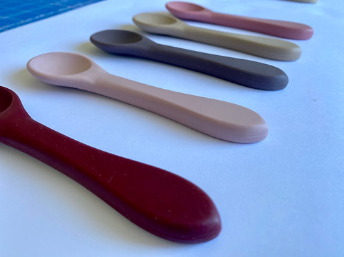 Warm Silicone Spoon Set