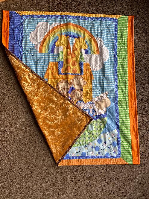 Noahs ark quilt/ Play mat