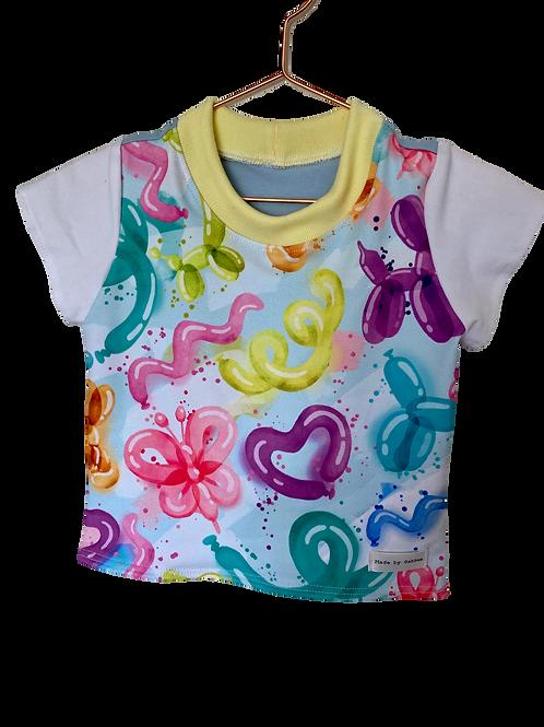 Balloon Animals Cotton Lycra T-Shirts