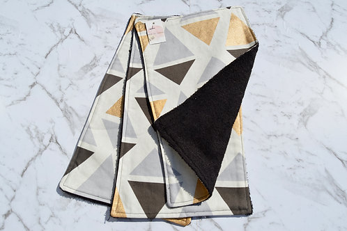 Cotton Geo Burp Cloth