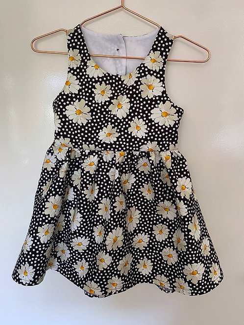 Daisy Open Back Dress