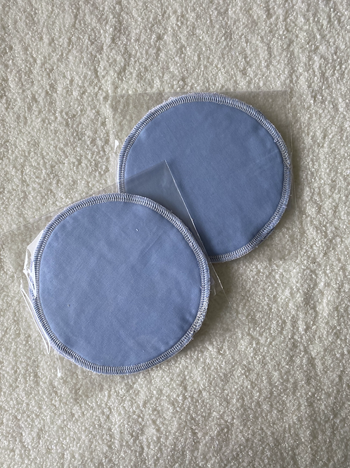 Periwinkle Reusable MakeUp Wipes (2pk)