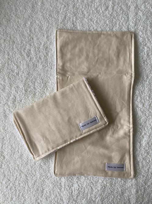 Khaki Burp Cloth