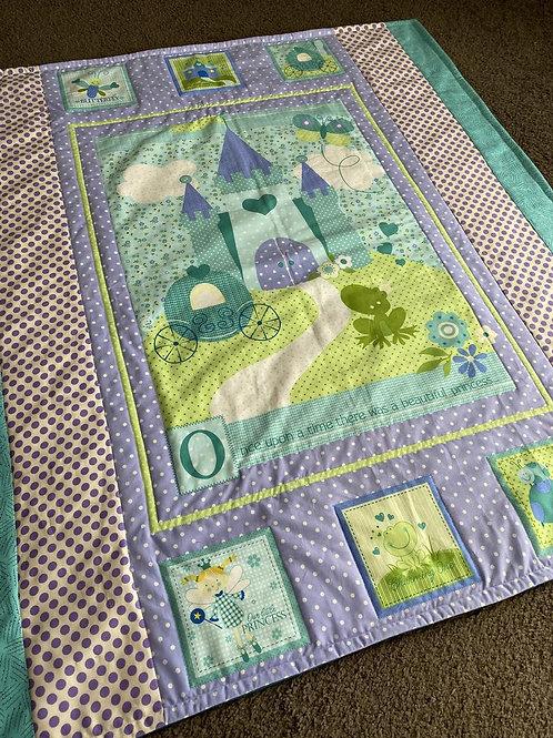 Green Princess Handmade Quilt