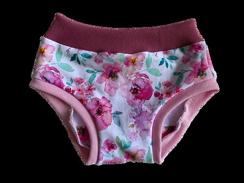 Floral Cotton Lycra Undies (floral inside)