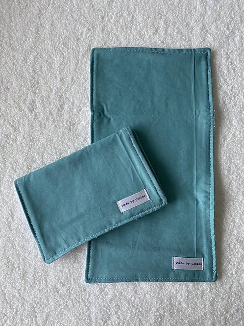 Sage Burp Cloth