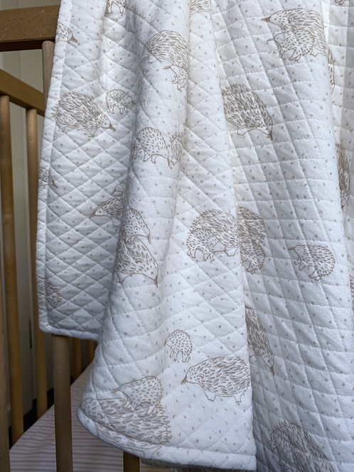 Rust Echinda Pram Blanket/ Comforter