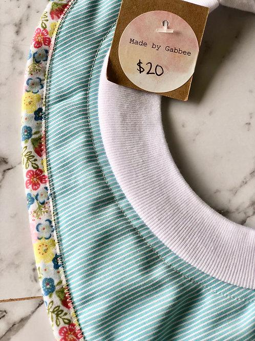 Cotton Pull Over Light Pin Stripe Bib