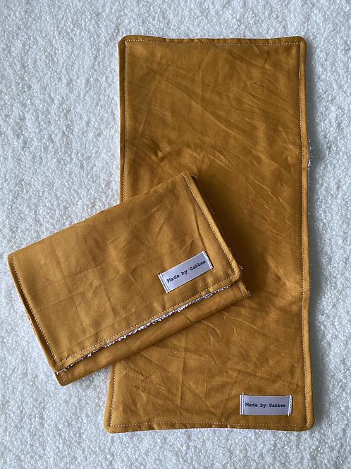 Mustard Burp Cloth