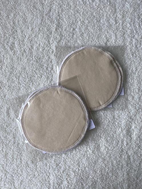 Khaki Reusable MakeUp Wipes (2pk)