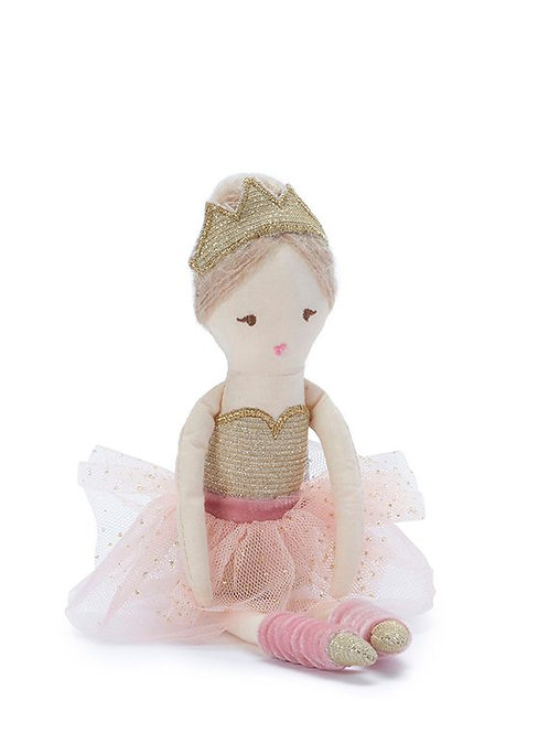 Betty Ballerina - Pink and Gold