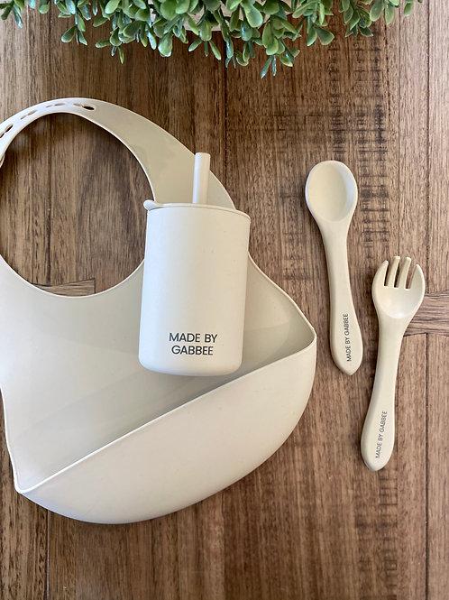 Khaki Tableware Set
