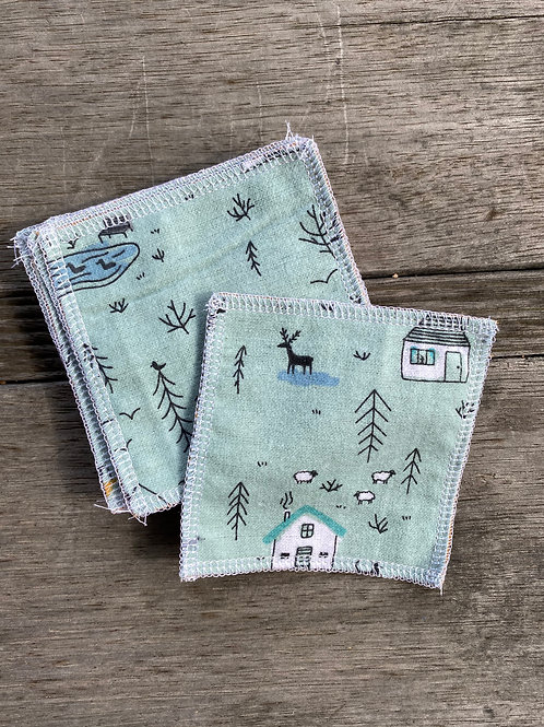 House in the Woods Reusable MakeUp Wipes (10pk)