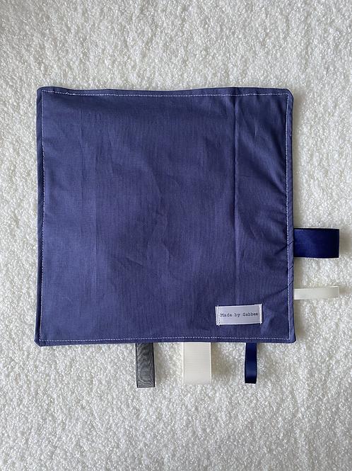 Slate Blue Handmade Crinkle Paper Taggies