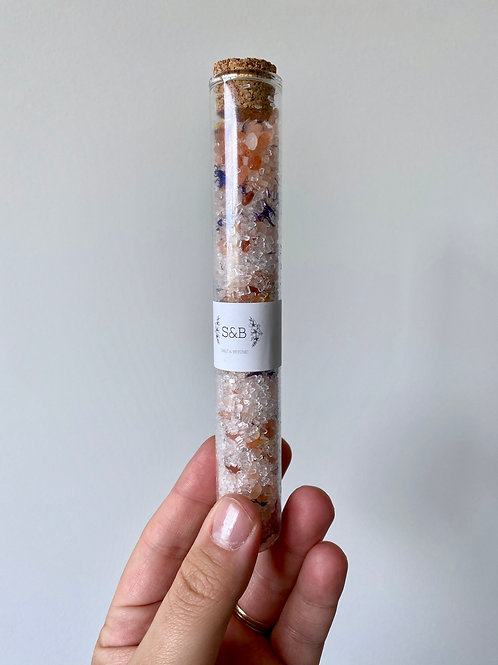 Luxury Test Tube Bath Salts by Salt and Beyond