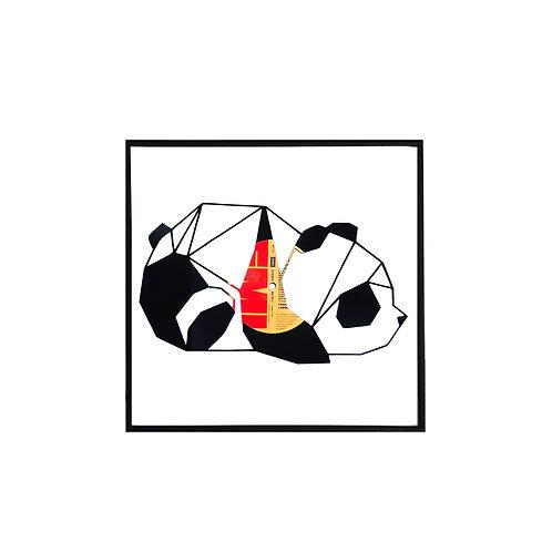 Tablou Franz Panda Origami