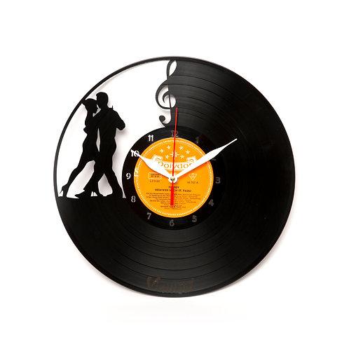 Ceas de perete Salsa Dance