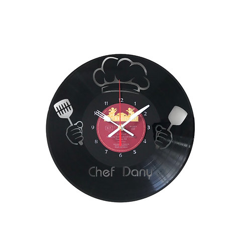 Ceas de perete personalizat Chef Bucatar