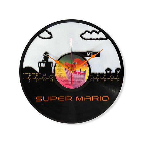 Ceas de perete Super Mario