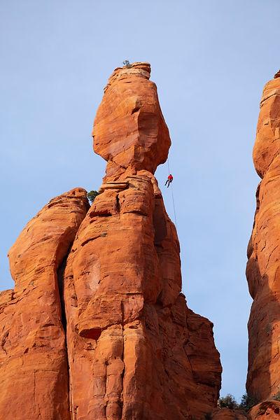 Climbing, Sedona Arizona