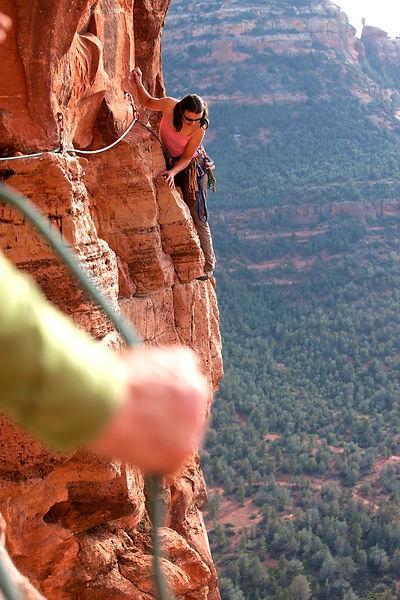 Sedona Arizna, Climbing