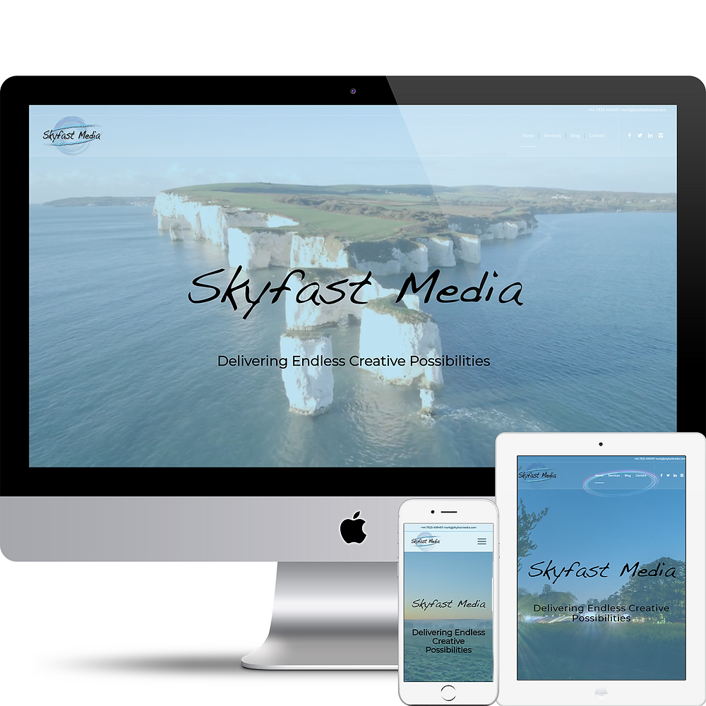 Website Image on Mac, Tablet and Phone