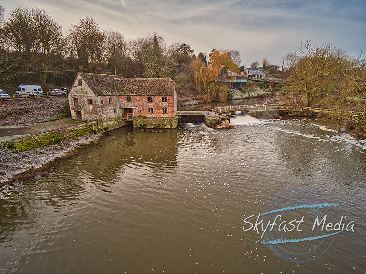 Sturminster Newton Mill Print