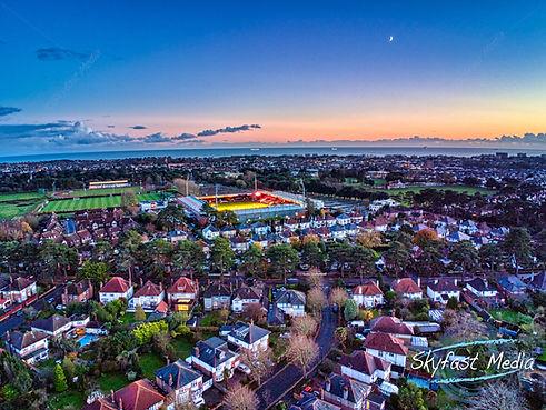 Sunset over the Vitality Stadium.jpeg